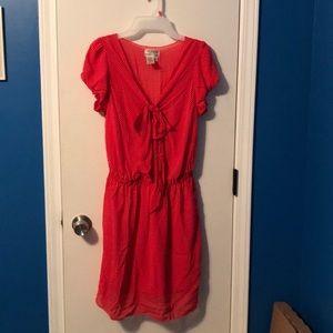 Max Studio MSSP red polka dot pin up summer dress